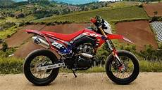Crf150l Modif Supermoto by Modifikasi Supermoto Honda Crf150l Supermoto Build Honda
