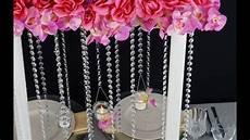 flower tower wedding centerpiece diy how to create