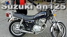 review suzuki gn 125 h