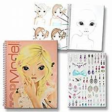 topmodel malbuch create your topmodel make up mit sticker