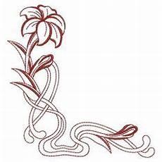 Malvorlagen Jugendstil Wedding Einfache Florale Ornamente Im Jugendstil Vinyl Ready
