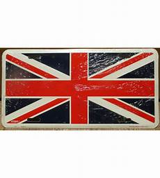 plaque d immatriculation drapeau anglais union flag