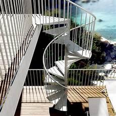 escalier colimaçon acier galvanisé m 201 talis escalier colima 231 on au design rond en acier pour l