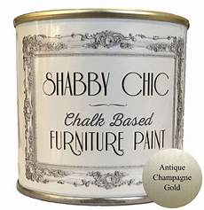 antique chagne gold shabby chic furniture chalk paint 1 litre