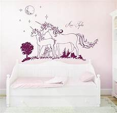 wandtattoo rauhfaser wall tattoo unicorn unicorns star named 1600 wandtattoo