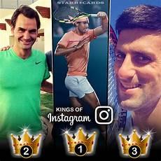 Instagram Nowak - of instagram novak djokovic roger federer rafael