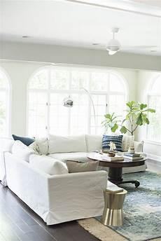 a bright boho living room tour room for tuesday