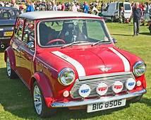 Mini Cooper Classic Car At Ripley Castle Editorial Photo