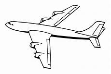 simple airplane coloring pages getcoloringpages