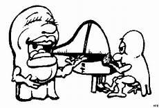 eier spielen klavier ausmalbild malvorlage comics