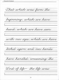 cursive writing worksheets for grade 2 scripture character writing worksheets zaner bloser beginning cursive cursive handwriting