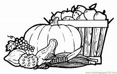 autumn fruits coloring page free autumn coloring pages