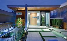 Desain Taman Depan Rumah Modern Rancangan Desain Rumah