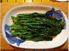 choy sum in oyster sauce_image