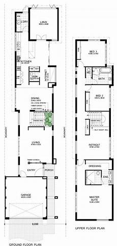 2 storey house plans for narrow blocks modern luxury home designs perth narrow house designs