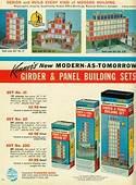 KENNER 1964 Girder And Panel Set No 23 Vintage Toys