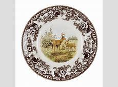 Spode Woodland Dinner Plate 10.5 Inch (Mule Deer)   Spode USA