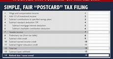 paul ryan s postcard tax return is really dumb vox paul ryan s postcard tax return is really dumb vox