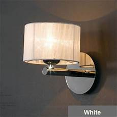 oygroup fashion wall light sconce chrome l home decoration bedroom lighting fixtures white