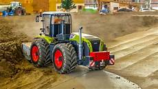 rc tractor claas xerion cleaning machine