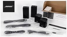 bose virtually invisible 300 unboxing setup