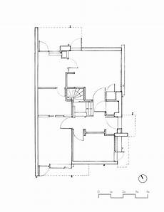 schroder house plan the rietveld schroder house hand drawings