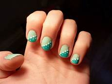 cool easy nail designs two colors some fashion 2d