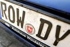 neues auto kennzeichen behalten alles zum wunschkennzeichen kosten reservierung verbote