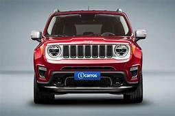 Jeep Renegade 2019 Ter&225 Mudan&231as Marcantes Na Dianteira