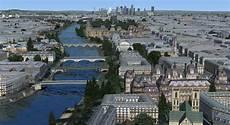 Paris Intra Muros City Of Scenery For Fsx