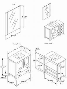Dimensions Of Bathroom Vanity by 30 Quot To 54 Quot Torino Single Bath Vanity Light Oak