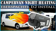 how to cervan heating vw t5 eberspacher airtronic d2