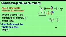 subtraction of mixed numbers with regrouping worksheets 10695 worksheet subtracting fractions with regrouping grass fedjp worksheet study site