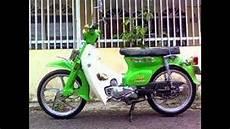 Modifikasi Sepeda Motor by Modifikasi Sepeda Motor Classic Honda C70 Modif Engine