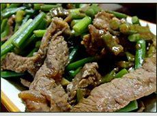 beef   garlic scapes stir fry_image