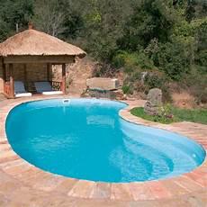piscine coque polyester haricot graf 65 75 distripool