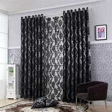 rideau occultant noir pas cher rideau occultant noir large court et rideaux design