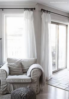 inexpensive curtains ikea curtain hack diy home decor