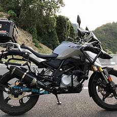 modification bmw g 310 gs aliexpress buy g310gs motorcycle exhaust escape
