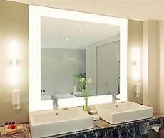 Spiegel Für Toilette - badspiegel mit beleuchtung vella m444l4 design spiegel