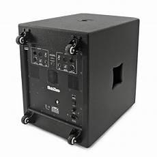 caisson de basse actif ou passif pack caisson de basse actif 18 quot 1100w subzero syst 232 me haut parleur satellite 10 quot 224 gear4music