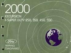 automotive service manuals 2000 ford f250 engine control 2000 ford excursion f250 f350 f450 f550 f super duty truck wiring diagrams