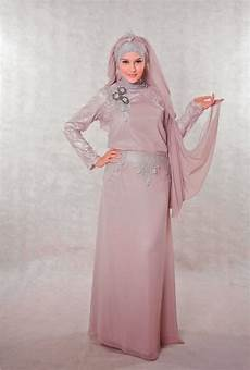 Model Gaun Pesta Malam Muslimah Terbaru 2014 Info