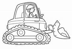 Kostenlose Malvorlagen Bagger Transportmittel Baggerfahrer Zum Ausmalen Ausmalen