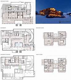 ski chalet house plans catered ski chalet lech chalet n leo trippi from leo
