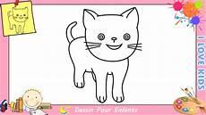 dessin facile chat photo de chat a dessiner facile gallery avec 10568488 et