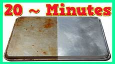 clean baking sheet how to clean sheet pans youtube