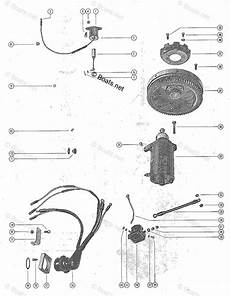 mercury mercury mariner outboard parts by hp liter 35hp oem parts diagram for starter motor