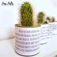 Der Kleine Grüne Kaktus - ines felix kreatives zum nachmachen mein kleiner gr 252 ner