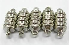 5 magnet verschluss silber 18mm metall verschl 220 sse